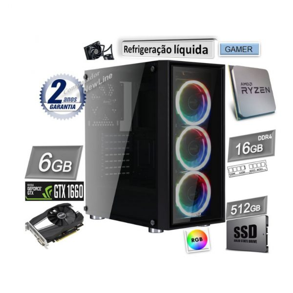 Computador NewLine AMD_6