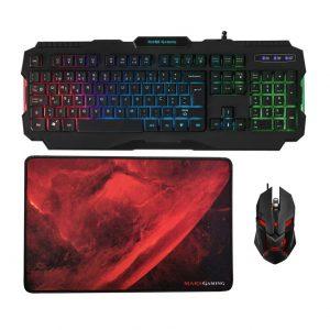 conjunto teclado-rato-tapete-marcs