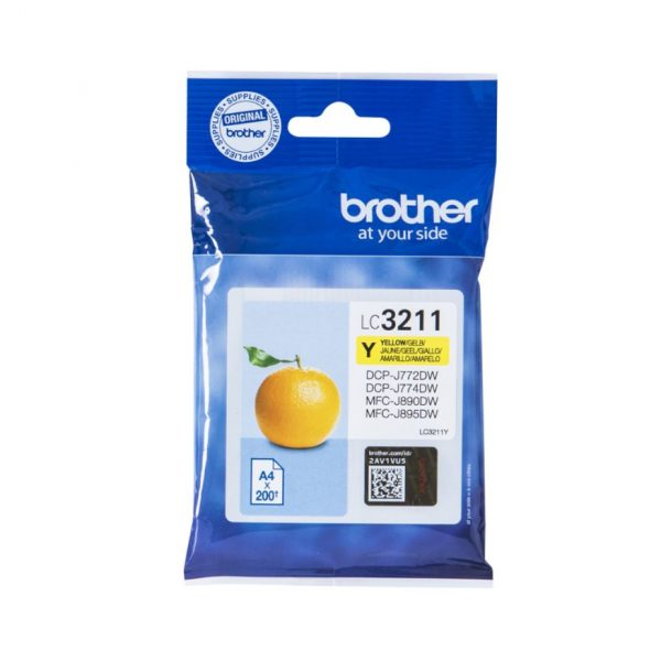 tinteiro Brother LC3211_y