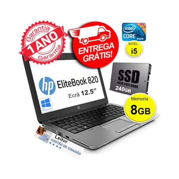 HP 820 SSD 240GB