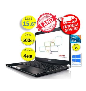 Portátil Toshiba Tecra | Intel i5  3230 | Memoria 4GB | Disco 500 GB | Ecrã 15.6p | Teclado Numérico