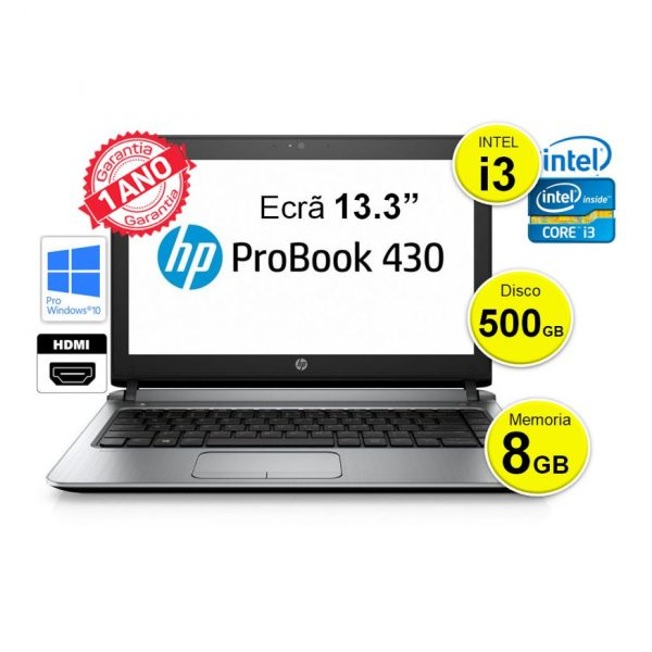 HP 430_500GB