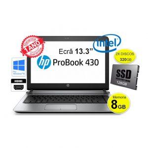 HP 430_8GB_SSD+320gb