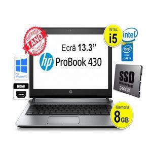HP Probook 430_8GB_I5_240